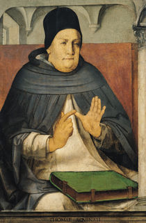 Portrait of St. Thomas Aquinas  von Joos van Gent