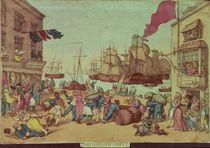 Portsmouth Point von Thomas Rowlandson