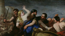 The Abduction of Helen  by Luca Giordano
