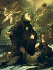 St Francis of Paola von Luca Giordano