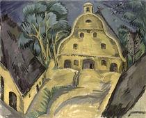 Staberhof Farm on Fehmarn I von Ernst Ludwig Kirchner