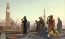 The Prayer von Jean Leon Gerome