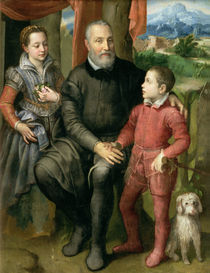 Portrait of the artist's family by Sofonisba Anguissola