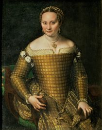 Portrait of the artist's mother by Sofonisba Anguissola