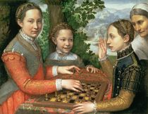 Game of Chess by Sofonisba Anguissola