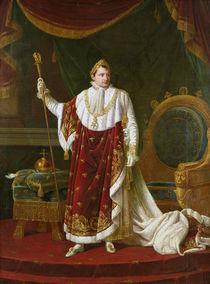 Portrait of Napoleon  von Robert Lefevre