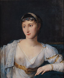 Portrait of Marie-Pauline Bonaparte  by Robert Lefevre
