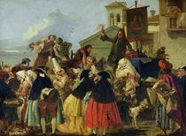 The Tooth Extractor by Giandomenico Tiepolo