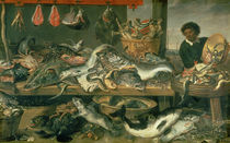 The Fish Market by Frans Snyders or Snijders