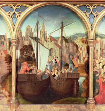 St. Ursula and her companions landing at Basel von Hans Memling