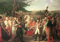 Napoleon Bonaparte  by Anne Louis Girodet de Roucy-Trioson