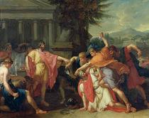 The Death of Tatius  by Anne Louis Girodet de Roucy-Trioson