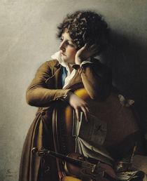 Portrait of Romainville-Trioson by Anne Louis Girodet de Roucy-Trioson