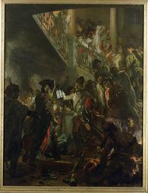 Frederick II the Great  von Adolph Friedrich Erdmann von Menzel