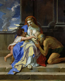 An Allegory of Charity by Charles Le Brun