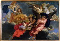 Apotheosis of King Louis XIV of France  von Charles Le Brun