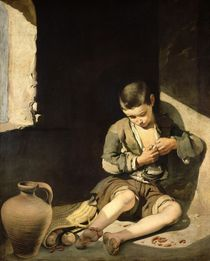 The Young Beggar by Bartolome Esteban Murillo