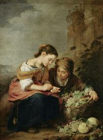 The Little Fruit-Seller von Bartolome Esteban Murillo
