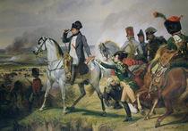 The Battle of Wagram von Emile Jean Horace Vernet