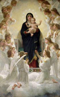 The Virgin with Angels von William-Adolphe Bouguereau