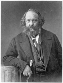 Portrait of Mikhail Aleksandrovich Bakunin  by Nadar