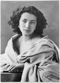 Sarah Bernhardt  von Nadar