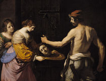 Salome Receiving the Head of St. John the Baptist by Guercino
