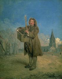 Savoyard with a Marmot by Jean Antoine Watteau