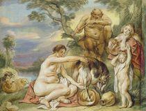 Jupiter as a Child  von Jacob Jordaens