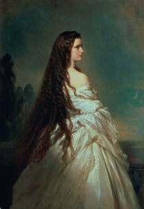 Elizabeth of Bavaria  by Franz Xavier Winterhalter