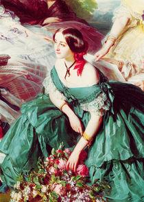 Empress Eugenie and her Ladies in Waiting von Franz Xavier Winterhalter
