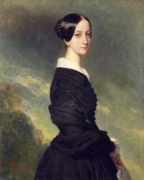 Portrait of Francisca Caroline de Braganca  by Franz Xavier Winterhalter