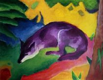 Blue Fox von Franz Marc