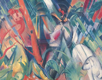 In the Rain von Franz Marc