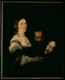 Salome with the head of St. John the Baptist by Bernardo Strozzi