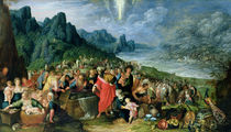 The Israelites on the Bank of the Red Sea von Frans II the Younger Francken