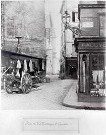 Rue de la Montagne Sainte-Genevieve by Charles Marville