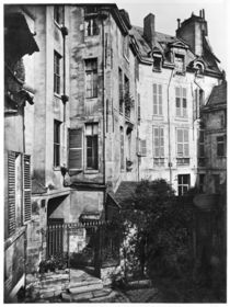 Rohan courtyard by Charles Marville