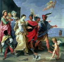 The Abduction of Helen by Guido Reni