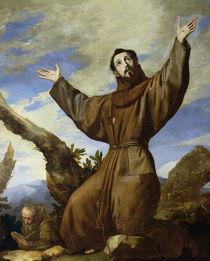 St. Francis of Assisi  von Jusepe de Ribera