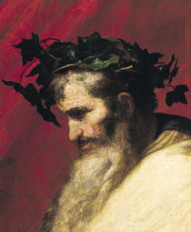 Head of an Old Man von Jusepe de Ribera
