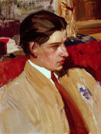 Self portrait in profile  von Joaquin Sorolla y Bastida