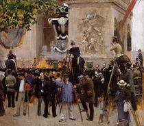 The Funeral of Victor Hugo  by Jean Beraud