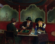 The Backgammon Players  von Jean Beraud