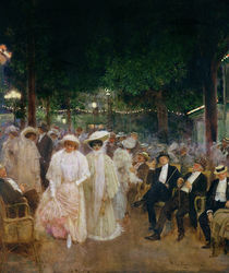 The Gardens of Paris von Jean Beraud