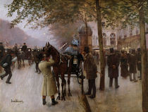 The Boulevards von Jean Beraud