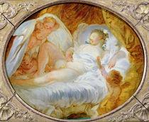 Le Feu aux Poudres  by Jean-Honore Fragonard