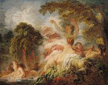 The Bathers von Jean-Honore Fragonard