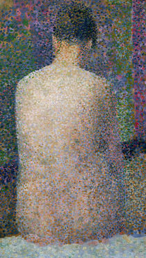 Model from the Back by Georges Pierre Seurat