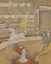 The Circus by Georges Pierre Seurat